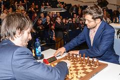 Grischuk vs Aronian
