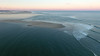 Chatham Break at Sunset Aerial