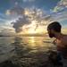 Sunset Snorkel by Zach Dischner