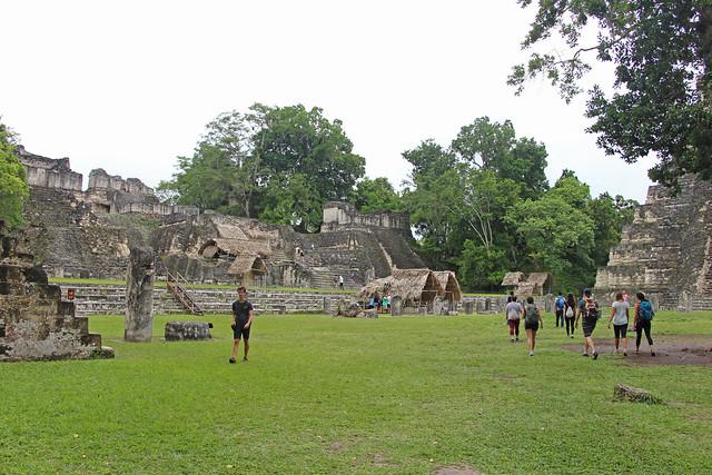 The main plaza of Tikal