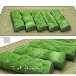 Kueh Dadar SEAsian Pancake 3D Model