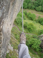 Greg on a Tight Rope Walk Image