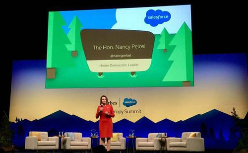 Congresswoman Pelosi discusses HIV/AIDS at Dreamforce