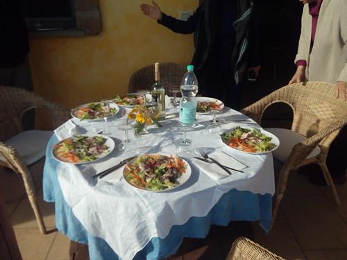 pranzo d'inverno