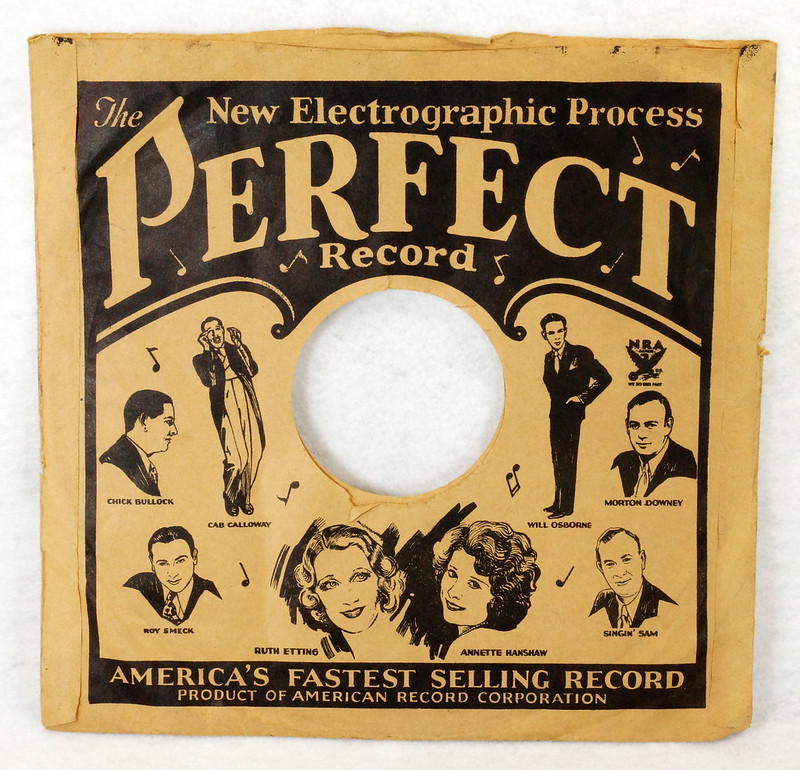 RD14635 3 Vintage PERFECT 78 RPM Album Sleeves American Record Corporation DSC06739