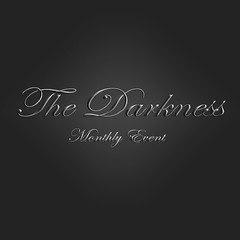 Designers Invitation to The Darkness Monthly Event