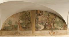 Gli affreschi del chiostro