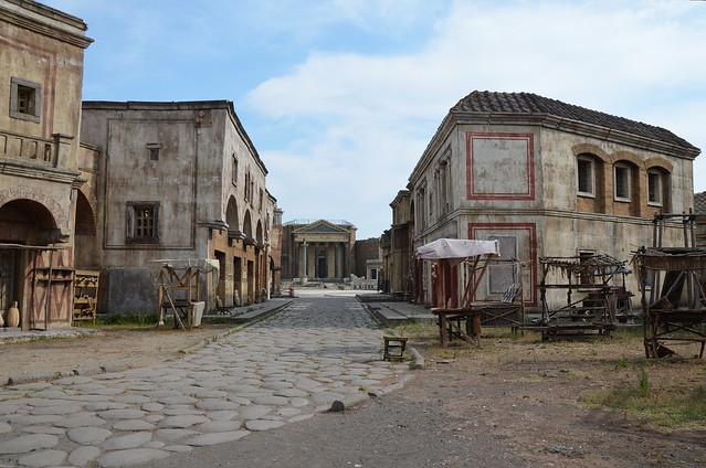 "Set of HBO's ""Rome"" at Cinecittà, Rome"