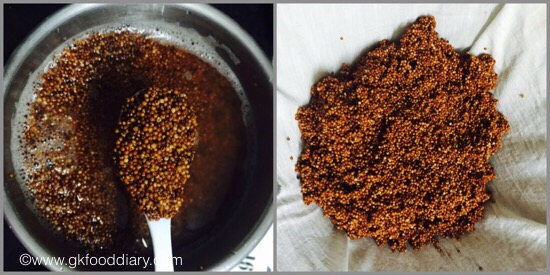 Sprouted Ragi powder for Babies - step 3
