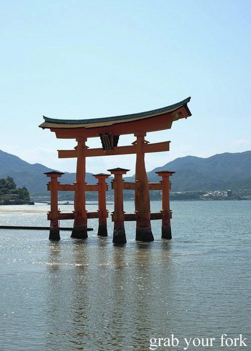 Itsukushima Gate, the floating torii gates of Miyajima Island