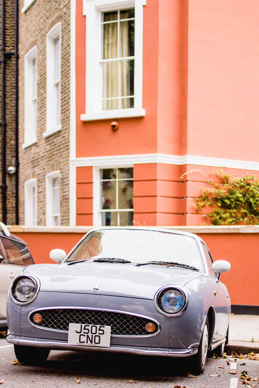 primrose hill london cute grey figaro car