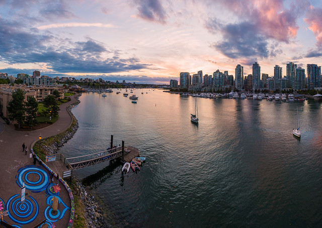 False Creek from Above