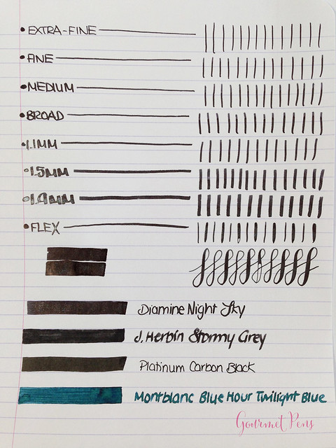 Ink Shot Review Diamine Night Sky (3)