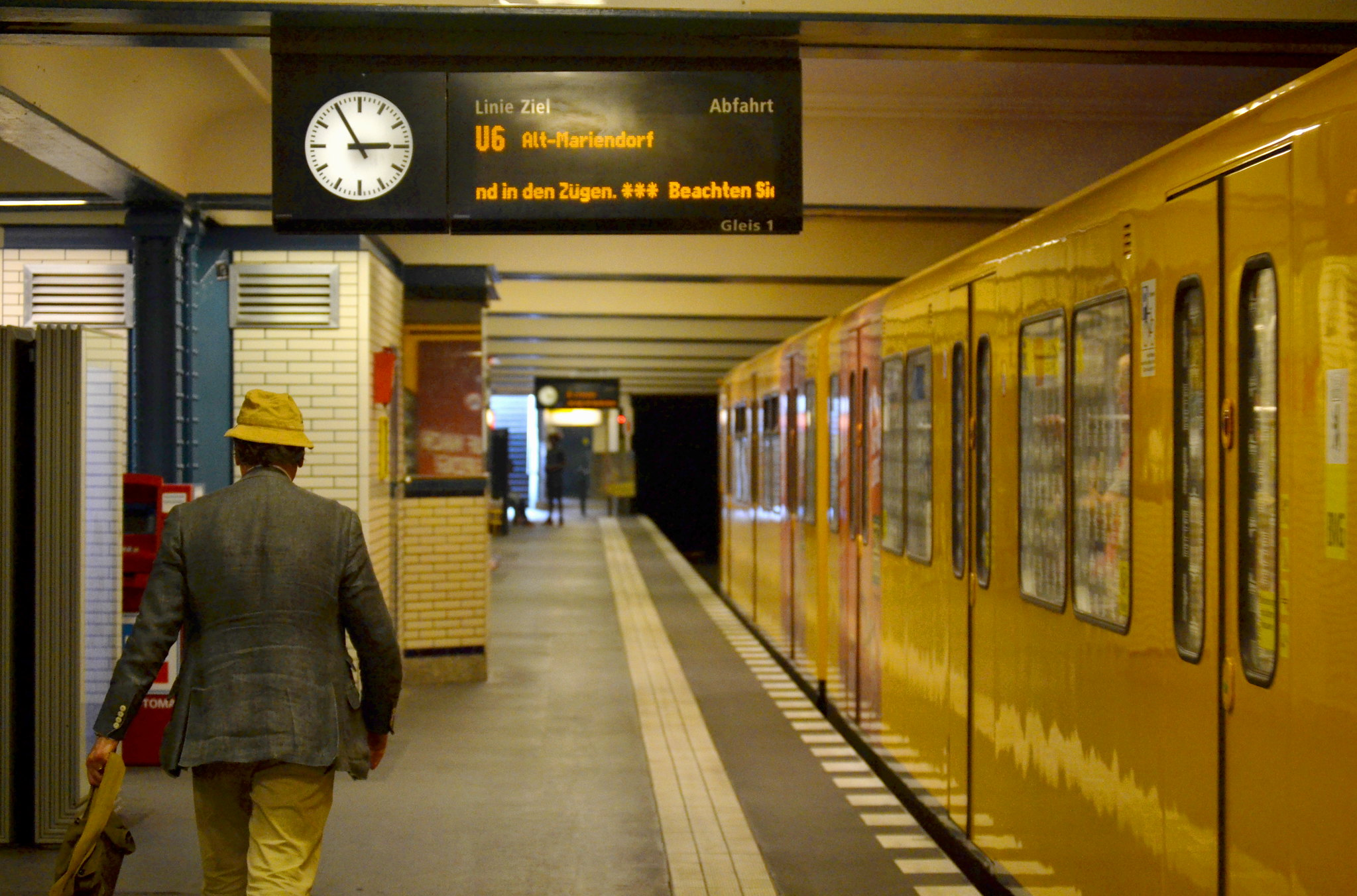 Yellow U-Bahn