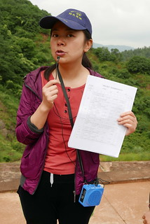 綠色昆明總幹事梅念蜀。攝影:晁瑞光。