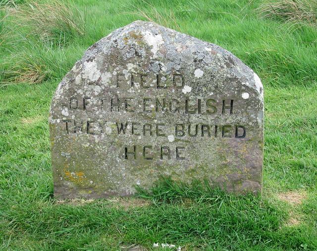 """Culloden: """"English"""" Gravestone"""