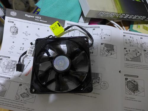 原來懷掉的 CoolMaster 風扇