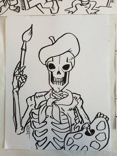 Halloween Coloring pages for Kids Ball at Arts Center