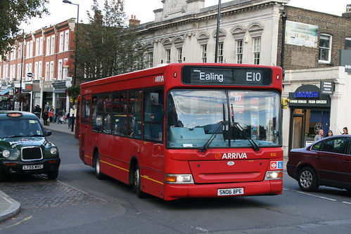 Arriva-TGM 1632 on Route E10, Ealing Broadway Haven Green