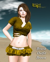 Babele :: Brava Outfit Brown