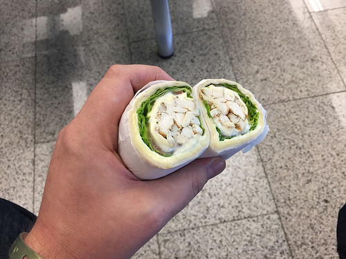Chicken wrap @ Puerto Plata Airport
