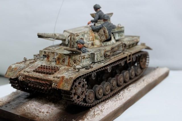 【玩具人akdsy投稿】冬季迷彩戰車模型製作分享