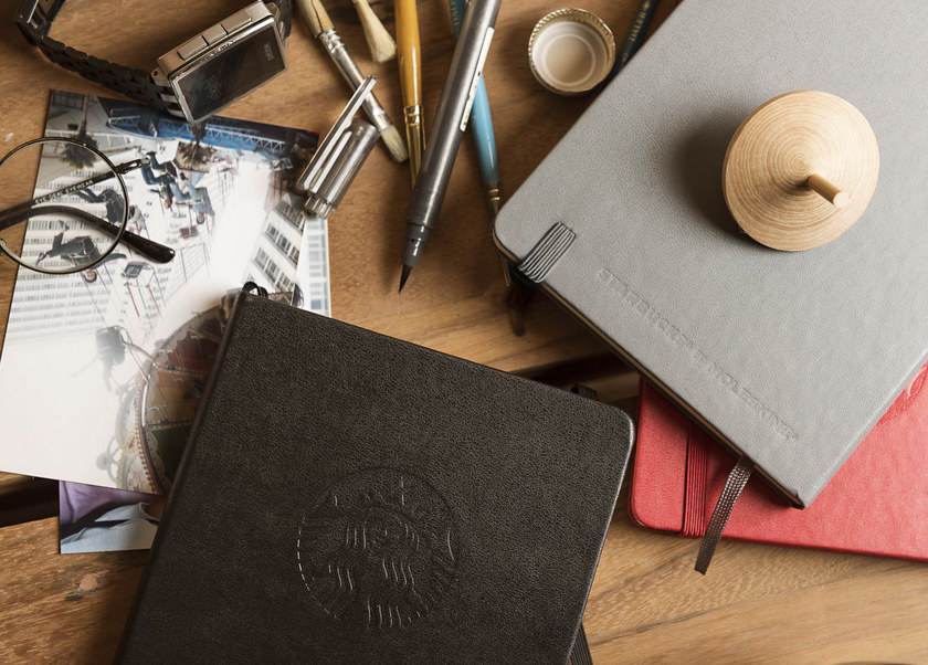 Starbucks 2016 Moleskine Planners from Singapore