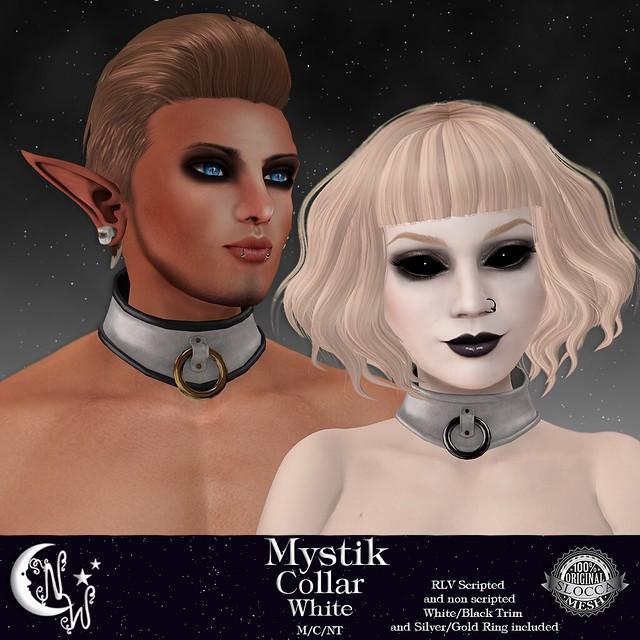 *NW* Mystik Collar - White