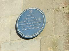 Photo of Angel Inn, Shaftesbury blue plaque