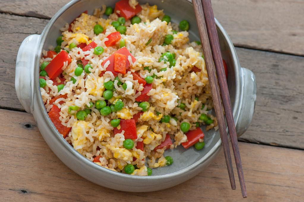 m4. Fried Brown Rice