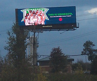 Billboard from 2013: This is Winnesota.