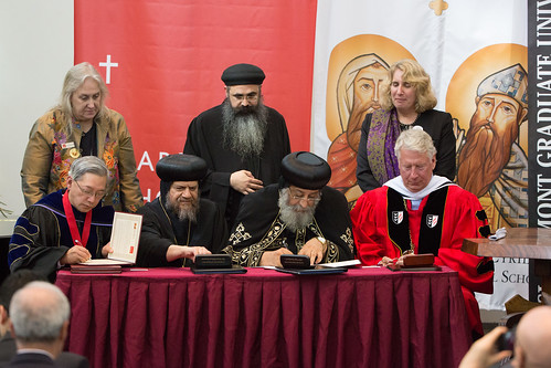 Pope Tawadros II Visits Claremont