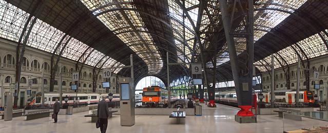 Barcelona Sants train station (2015)
