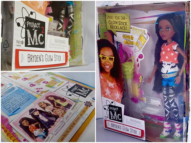 Project MC2 Doll Collage, gift ideas