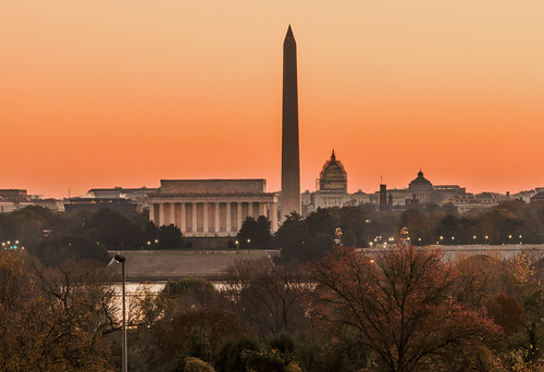 Sunrise Over Washington by Geoff Livingston
