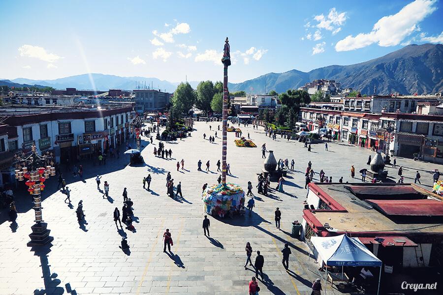 2015.12.09 ▐ Tibet 西藏踢北去 ▐ 尋找藏人真正的拉薩中心,被信仰力量震撼的大昭寺與舊城區 17.jpg