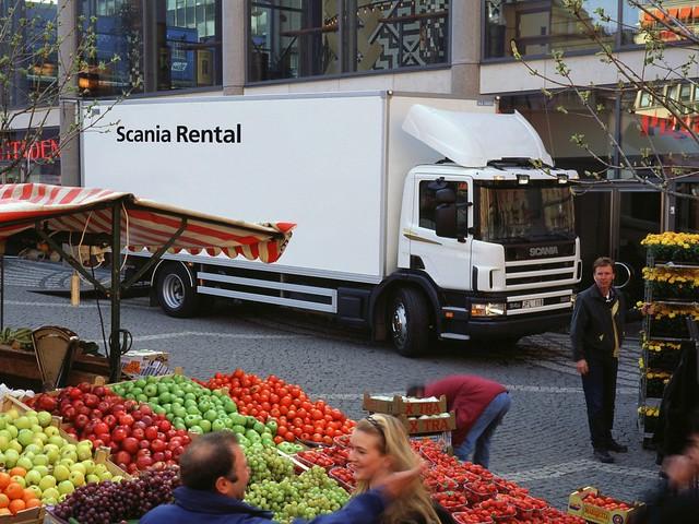 Городской грузовик Scania P94D 220 4x2. 1995 – 2004 годы