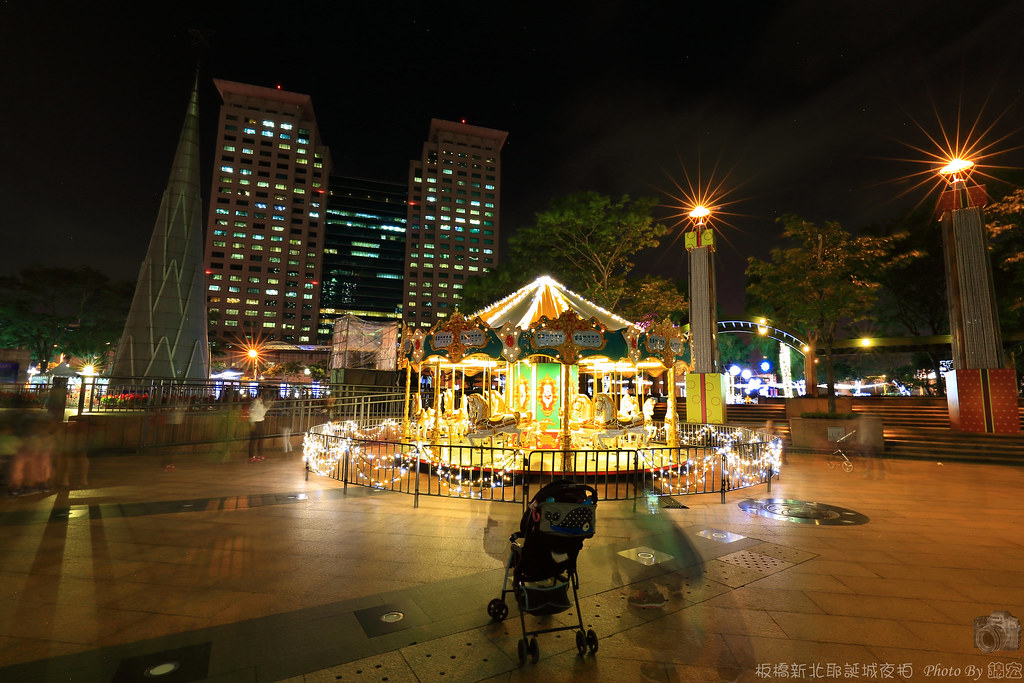 2015.11.19~板橋新北耶誕城夜拍
