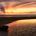 Waddell Creek Sunset by Aron Cooperman