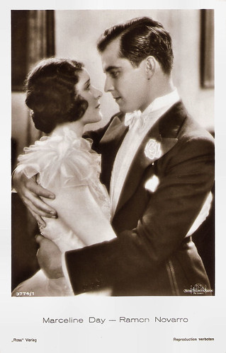 Marceline Day and Ramon Novarro in A Certain Young Man (1928)