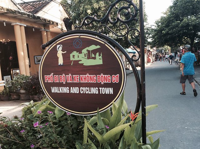 Hội An, Vietnam - Walking and Cycling Town
