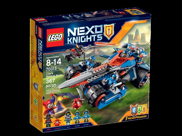 LEGO Nexo Knights 70315 - Clay's Rumble Blade