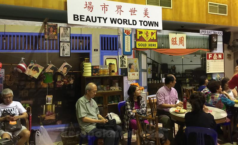 Beauty World Town re-enactment at Bukit Timah Community Centre