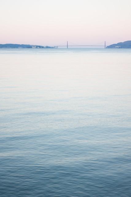 Golden Gate before Sunrise