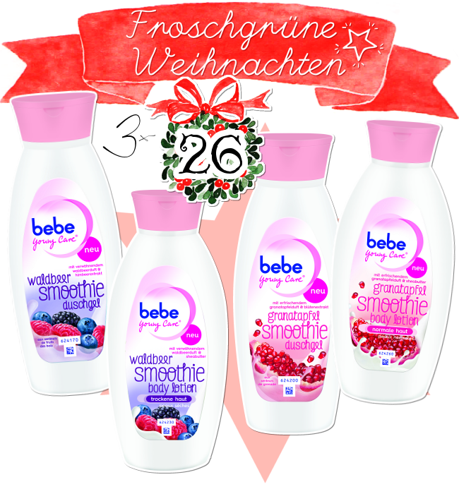 Blogger Adventskalender, bebe young care smoothie