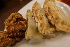 fried chicken & dumpling