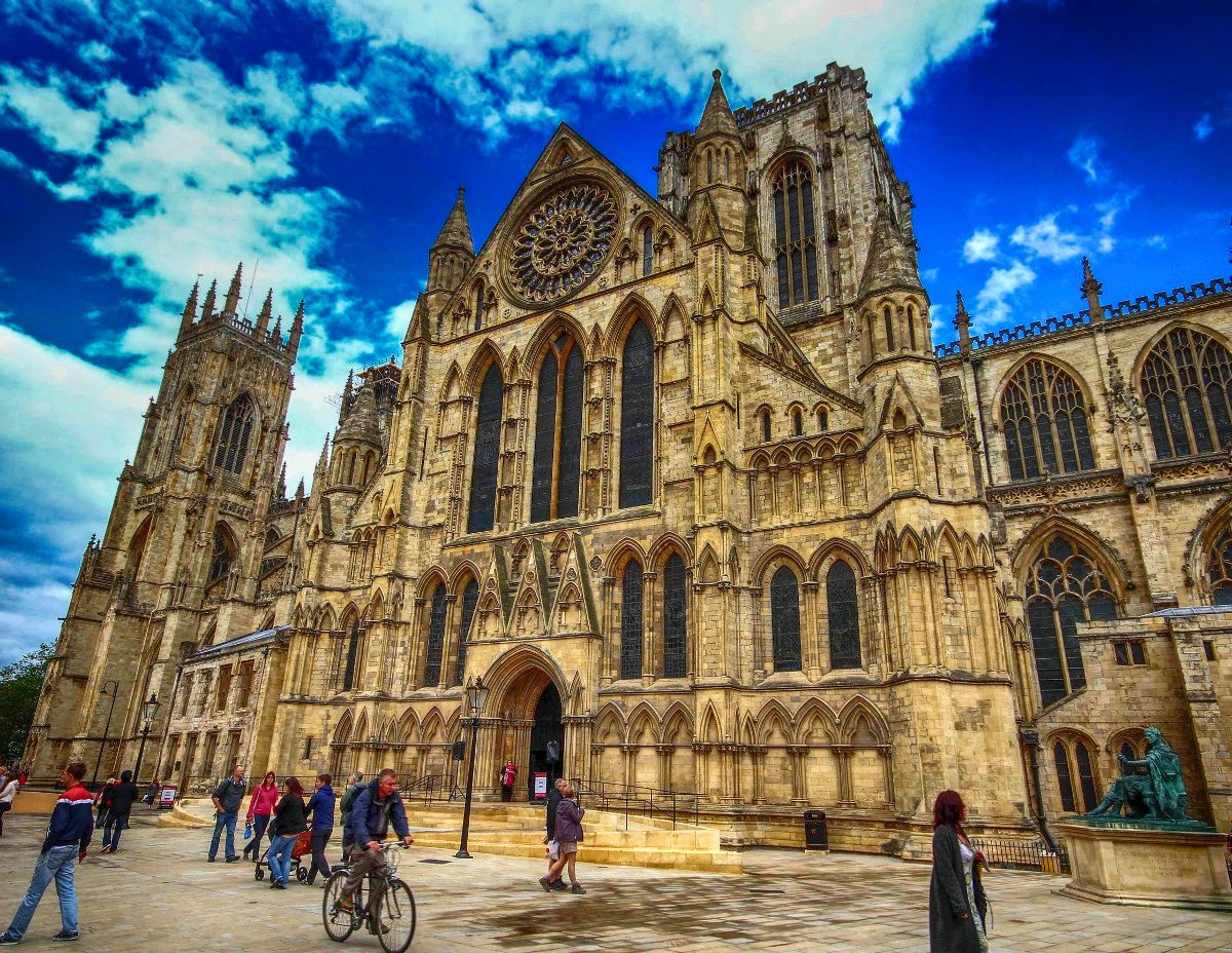 South entrance to York Minster. Credit Nick Ansell