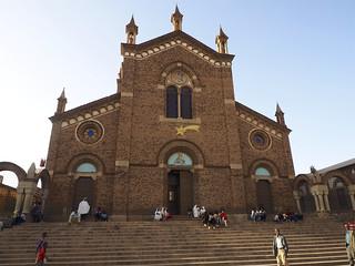 Imageof Saint Joseph's Cathedral. asmara eritrea africa youngpioneertours italian art deco artdeco