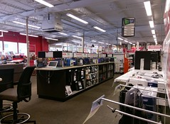 Looking toward the front, from computers and supplies