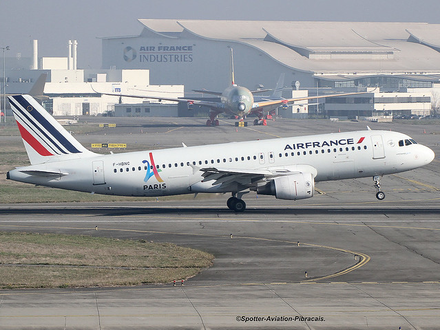 Air France. Livery